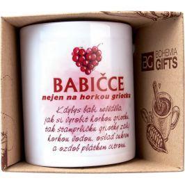 Bohemia Gifts & Cosmetics Keramický hrnek s obrázkem Pro babičku 350 ml
