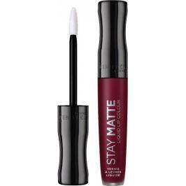 Rimmel London Stay Matte Liquid Lip Colour tekutá rtěnka 810 Plum This Show 5,5 ml