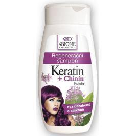 Bione Cosmetics Keratin & Chinin regenerační šampon na vlasy 260 ml