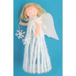 Anděl v sukni na postavení 20 cm č.3