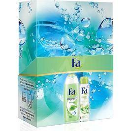 Fa Yoghurt Aloe Vera sprchový gel 250 ml + Fresh & Dry Green Tea antiperspitant deodorant sprej 150 ml, kosmetická sada