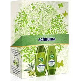 Schauma Nature Moments Středomořský olivový olej a Aloe Vera šampon 250 ml + kondicionér 200 ml, kosmetická sada