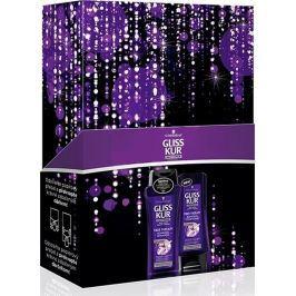 Gliss Kur Fiber Therapy šampon na namáhavé vlasy 250 ml + kondicionér 200 ml, kosmetická kazeta