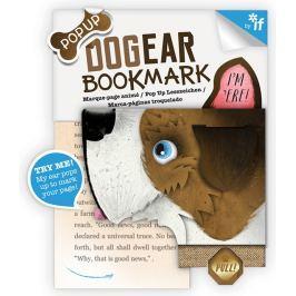 If Bookmark Dogear Záložka psí uši Teriér 98 x 5 x 90 mm