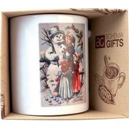 Bohemia Gifts & Cosmetics Keramický hrnek s obrázkem Sněhulák 350 ml