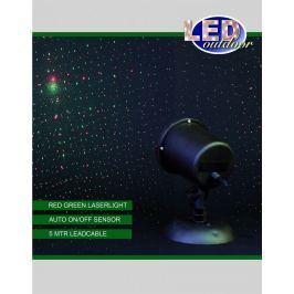 Annas Collection LED projektor hvězdná obloha - stálý, červená/zelená