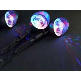 Annas Collection Trio-Star LED projektor venkovní - pohyblivý, barevný 3 kusy
