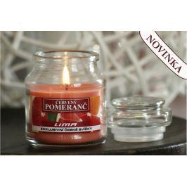 Lima Aroma Dreams Červený pomeranč aromatická svíčka sklenička s víčkem 120 g