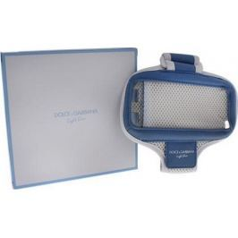 Dolce & Gabbana Light Blue pouzdro na mobil na ruku modro-šedé 15,6 x 8,5 cm