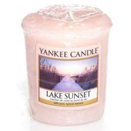 Yankee Candle Lake Sunset - Západ slunce u jezera vonná svíčka votivní 49 g