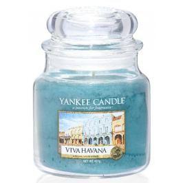 Yankee Candle Viva Havana - Ať žije Havana vonná svíčka Classic střední sklo 411 g