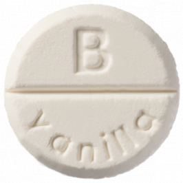 Bomb Cosmetics Vanilka aromaterapie tableta do sprchy 1 kus