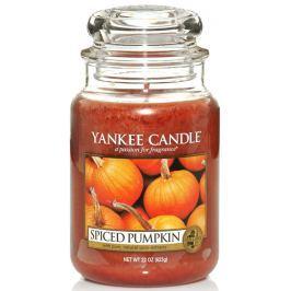 Yankee Candle Spiced Pumpkin - Kořeněná dýně vonná svíčka Classic velká sklo 623 g