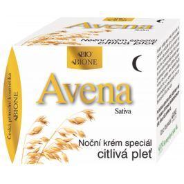 Bione Cosmetics Avena Sativa noční pleťový krém speciál pro citlivou a problematickou pleť 51 ml