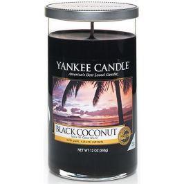 Yankee Candle Black Coconut - Černý kokos vonná svíčka Décor střední 340 g