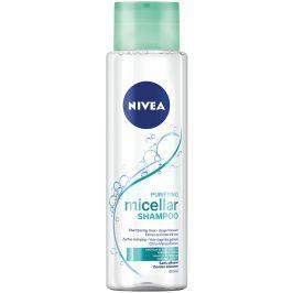 Nivea Osvěžující micelární šampon pro normální až mastné vlasy 400 ml