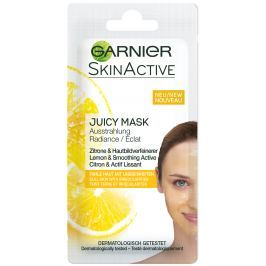 Garnier Skin Active Juicy Peel Mask rozjasňující pleťová maska pro mdlou, nesjednocenou pleť 8 ml
