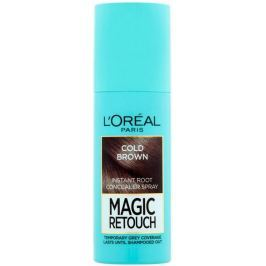 Loreal Paris Magic Retouch vlasový korektor šedin a odrostů Cold Brown 75 ml
