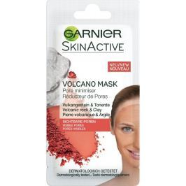 Garnier Skin Active Volcano Mask hřejivá pleťová maska stahující rozšířené póry 8 ml