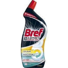 Bref 10x Effect Power gel Anti Rust Citrus tekutý WC čistič proti rzi 700 ml