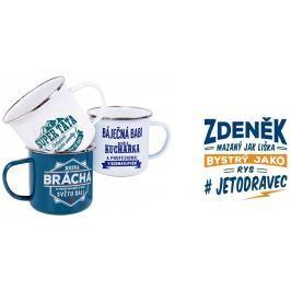 Albi Plechový hrnek se jménem Zdeněk 250 ml
