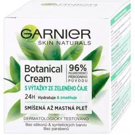 Garnier Skin Naturals Botanical Cream s výtažky zeleného čaje pleťový krém pro smíšenou až mastnou pleť 50 ml