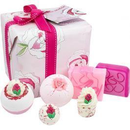 Bomb Cosmetics Růžová zahrada - Rose Garden balistik 2x160 g + kulička 30 g + špalíček 50 g + mýdlo 2x100 g, kosmetická sada