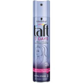 Taft 7 Days Anti-Frizz pro účes bez krepatění extra silná fixace 3 lak na vlasy 250 ml