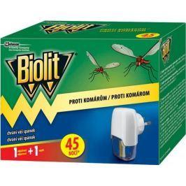 Biolit Proti komárům elektrický odpařovač s tekutou náplní 45 nocí strojek + náplň 27 ml