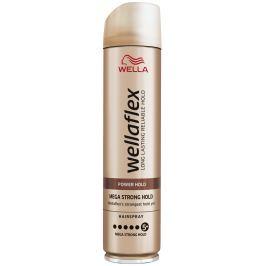 Wella Wellaflex Mega Strong Hold Power Hold mega silné zpevnění lak na vlasy 250 ml