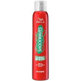 Wella Shockwaves Style Refresh & Root Revival suchý šampon 180 ml