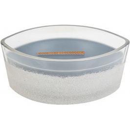 WoodWick Sanded Evening Onyx - Večerní onyx vonná svíčka s dřevěným širokým knotem a víčkem sklo loď 453 g