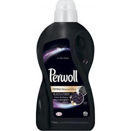 Perwoll Black & Fiber Tekutý prací gel navrací vláknům intenzivní černou barvu, pevnost a pružnost 30 dávek 1,8 l