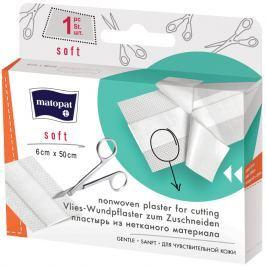 Matopat Soft netkaná náplast s polštářkem 6 cm x 50 cm 1 kus