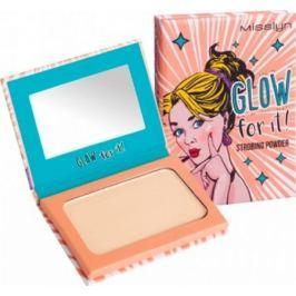 Misslyn Glow for It! Strobing Powder rozjasňující pudr 02 Glow for It! 6 g