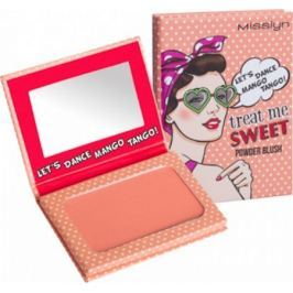 Misslyn Treat Me Sweet! Powder Blush tvářenka 38 Lets Dance Mango Tango! 6 g