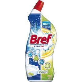 Bref Hygienically Clean & Shine Lemonitta Power gelový čistič 700 ml