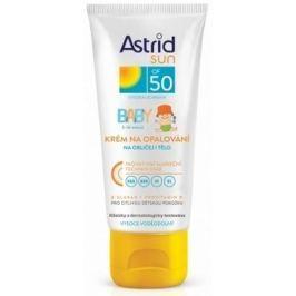 Astrid Sun Baby OF50 krém na opalování na obličej a tělo 75 ml