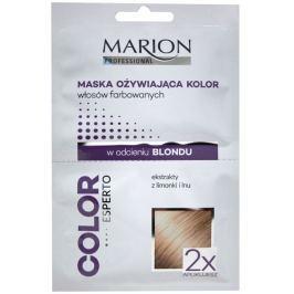 Marion Professional revitalizing colored blonde hair revitalizační maska na vlasy limetka a len 2 x 20 ml