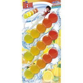 Dr. Devil Lemon Fresh BiColor 5Ball Wc závěs 3 x 35 g