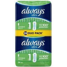 Always Ultra Standart hygienické vložky 24 kusů