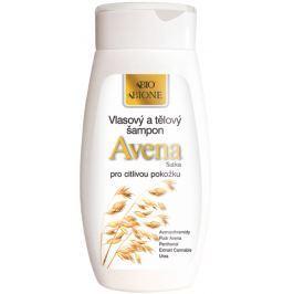 Bione Cosmetics Bio Avena Sativa vlasový a tělový šampon pro citlivou pokožku 260 ml