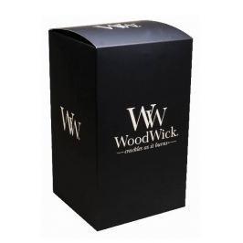 WoodWick Dárková krabička na velkou svíčku sklo 10,7 x10,7 x 18,3 cm
