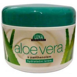 Luna Natural Aloe Vera s panthenolem hydratační krém 300 ml