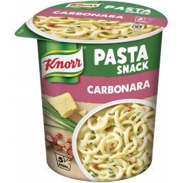 Knorr Snack těstoviny se sýrovou omáčkou a slaninou 55 g