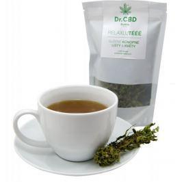 Dr. CBD Relaxujtééé Konopný čaj působí antibakteriálně, protizánětlivě, podporují imunitu ruční sběr 25 g