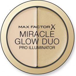 Max Factor Miracle Glow Duo krémový rozjasňovač 010 Light 11 g