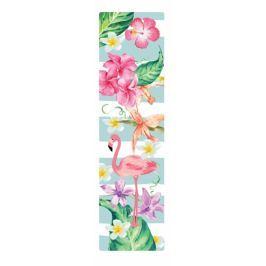 Albi Záložka Flip Flop 3D Plameňáci 19 x 5 cm