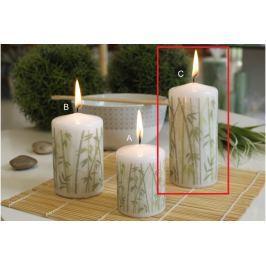 Lima Bambus svíčka bílá válec 60 x 120 mm 1 kus
