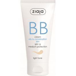 Ziaja BB SPF 15 krém mastná a smíšená pleť 01 Light 50 ml